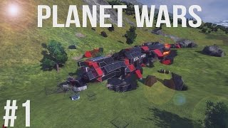 Space Engineers | Planet Wars - Ep 1 | Awakening