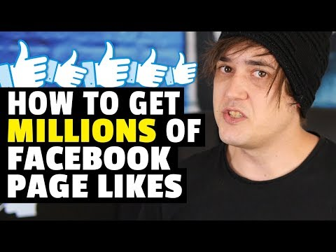 How to get Millions of Facebook Page Likes