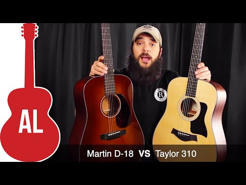 Taylor 310 VS Martin D-18 - Which Sounds Better?