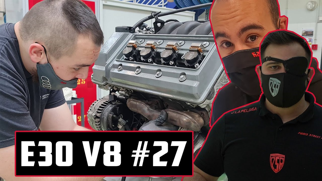   E30 V8   #27 LE NOUVEAU V8 ARRIVE !! - PSR TV -