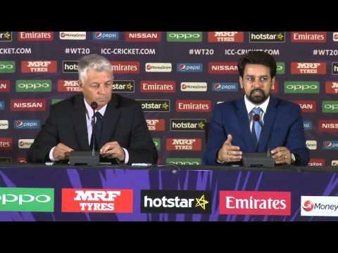 David Richardson & Anurag Thakur's presser