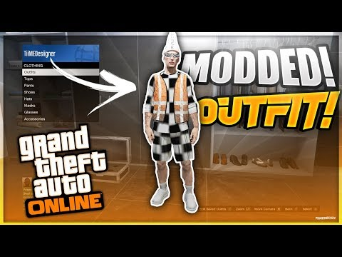 GTA 5 How To Get Checkered board \u0026 Vest Modded Outfits 1.50! (GTA 5 Online Clothing Glitches 1.50)