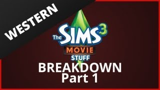 The Sims 3 Movie Stuff Trailer -- Part 1 Breakdown