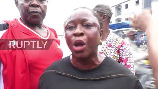 Cameroon: Protests in Douala in solidarity with Anglophone regions - Ruptly