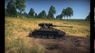 War Thunder 1.63 Dev Server | Scorpion Firing Slow-mow