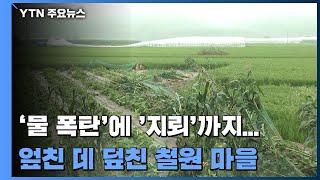 '물 폭탄'에 '지뢰'까지...엎친 데 덮친 철원 마을 / YTN