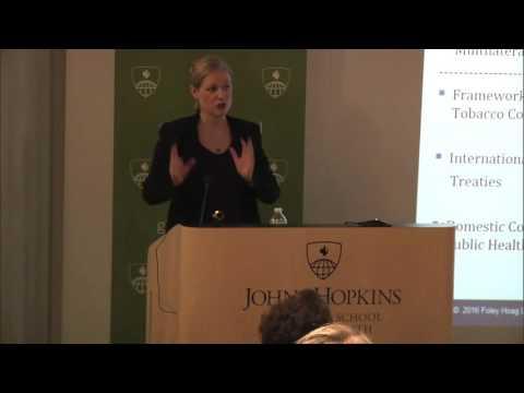 Clara Brillembourg: Philip Morris vs. Uruguay (lecture)