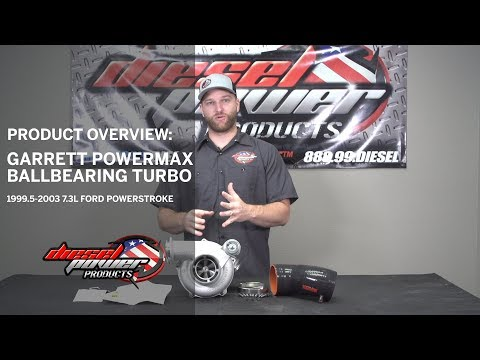Diesel Power Products: Product Overview: Garrett PowerMax 38R Turbo Kit - 99.5-03 Powerstroke
