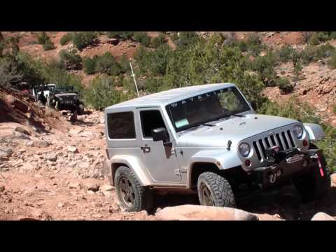 2 Days In Moab In A 2dr JK