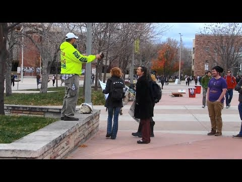 Cold, Windy Day at Colorado State University | GOD WAS WORKI