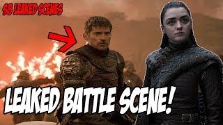 LEAKED Destruction of Winterfell! Game Of Thrones Season 8 (Leaked Scenes)