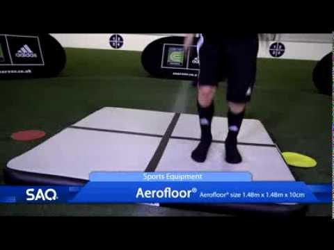 SAQ® Aerofloor® Sports Equipment Product Promo (Speed, Agility, Quickness (SAQ®)
