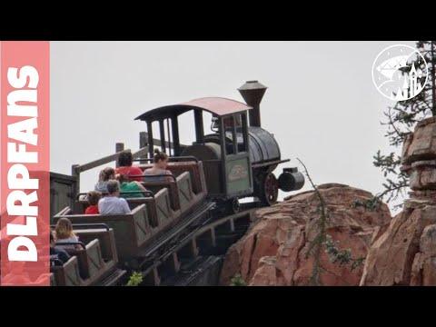 Onride Big Thunder Mountain at Disneyland Paris