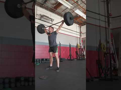 Pause snatch from lift off 2*2*4 @135 set 4