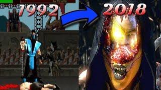 Mortal Kombat - эволюция фаталити