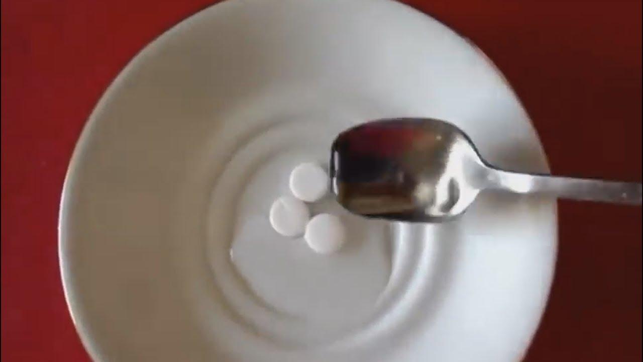 Aspirinli Sivilce Maskesi