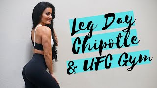 LEG DAY | DAY IN THE LIFE