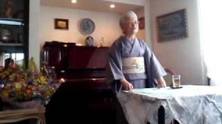 園田天光光先生、ハムリンフィスチュラジャパン後援会にてご講演風景