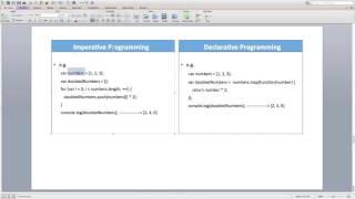 Lecture 17 -  Imperative vs Declarative Programming
