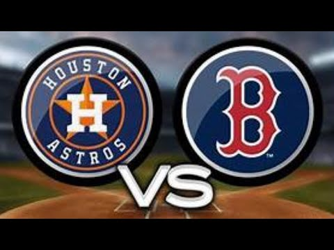 MLB Baseball Houston Astros Vs Boston Red Sox Live Stream Play By Play & Reaction