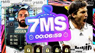 INSANE 87 FLASHBACK HIGUAIN!! 7 MINUTE SQUAD BUILDER - FIFA 21 ULTIMATE TEAM