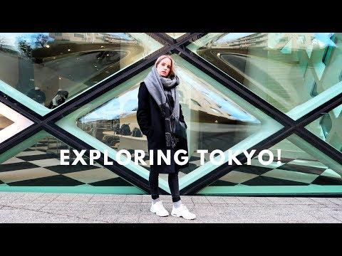 EXPLORING TOKYO FINALLY! FOOD, SHOPPING, SKIING & MORE!