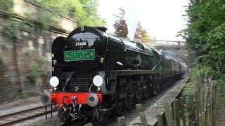 """Great Western Clan Line - 35028 to Bristol on the """"Belmond British Pullman"""" - 15/05/2019"""