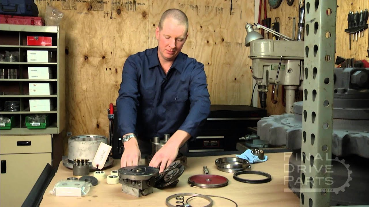 Components Of A Final Drive Motor Youtube