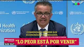 """Advertencia De La Oms: """"la Pandemia Se Está Acelerando"""" - El Noti De La Gente"""