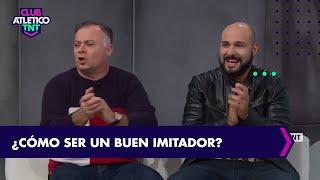 Las divertidas imitaciones de Claudio Rico y Pato Muzzio