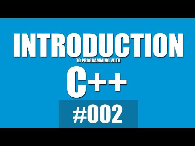 دورة أساسيات البرمجة باستخدام لغة ال c++