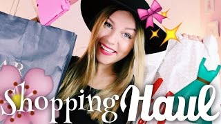 RIESEN shopping HAUL ♡ ( H&M, Zara, Lush .. ) | Dagi Bee