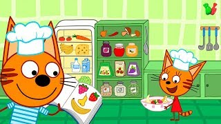 ГОТОВКА Челлендж Кулинарное Шоу #2 с героями мультфильма Три Кота Игра для детей