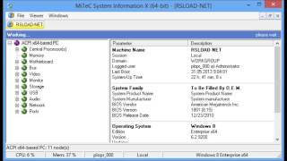 MiTeC System Information X v1 71