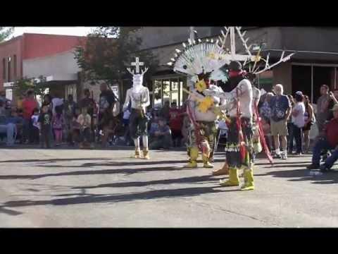 """San Carlos Apache Crown Dancers 2012"""