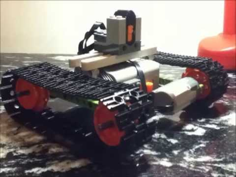Simple Lego Rc Tank Winstructions Youtube
