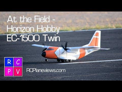 At the Field   Horizon Hobby's EC 1500 Twin