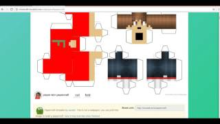 tutorial como hacer un papercraft