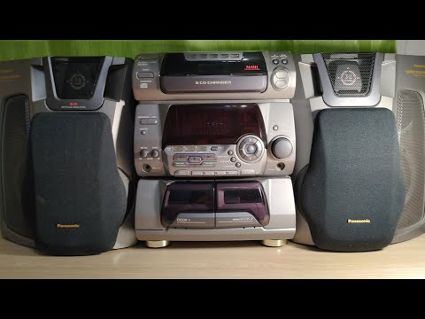 Музыкальный центр из 90-х - Panasonic SA-AK50. Обзор.