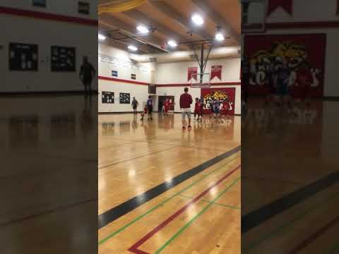 Kilo middle school basketball game against illahe middle school
