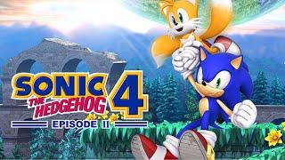 Sonic The Hedgehog 4: Episode 2 - Winter Wonderland of White Park Zone (iOS Gameplay)