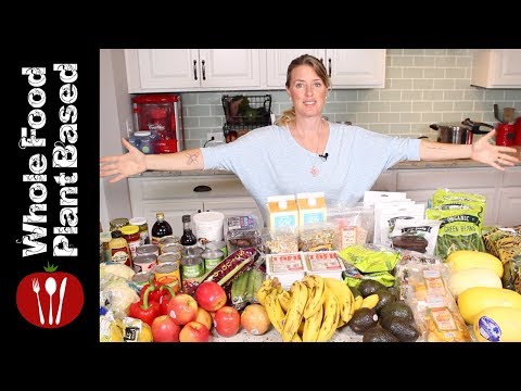 Plant Based Vegan Trader Joe's Haul (2018) The Whole Food Plant Based Cooking Show