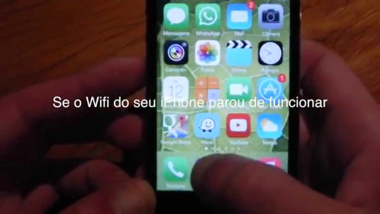 iPhone WIFI INATIVO - Solução em 2 passos