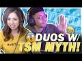 TSM MYTH TEACHES POKI A LESSON?! FORTNITE DUOS!