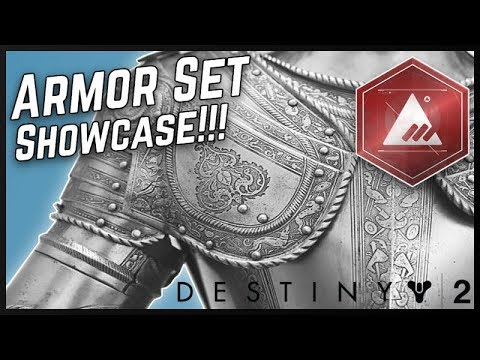 Destiny 2 |  New Monarchy Armor Set! Sovereign Armor Set Showcase!!! Faction Armor and Gear [Hunter]