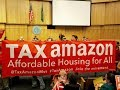 Chaotic scene at City Hall as Seattle City Council repeals head tax