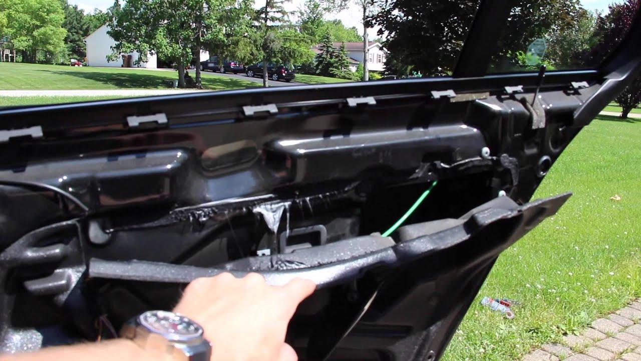 Vapor Barrier Seal DIY - YouTube & BMW E39 - Wet Rear Carpeting? Vapor Barrier Seal DIY - YouTube