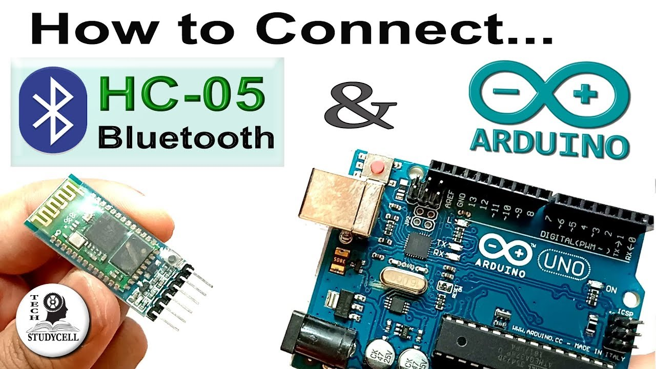 Bluetooth Module HC-05 with Arduino | Connections & Coding tutorial