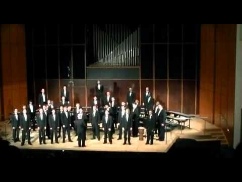"GSU Men's Choir sings ""Seize the Day"" - Jack Feldman Alan Menken Arr. Roger Emerson"