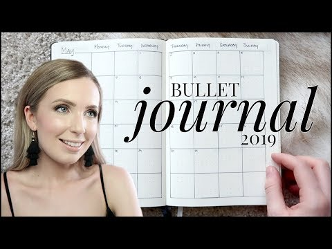 2019 Bullet Journal Setup | Minimal, Functional, Simple